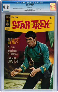 Star Trek #6 (Gold Key, 1969) CGC NM/MT 9.8 White pages