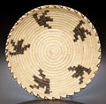 American Indian Art:Baskets, A PAPAGO COILED TRAY...