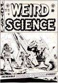 "Original Comic Art:Covers, Wally Wood Weird Science #15 ""Captivity"" Cover Original Art (EC, 1952)...."