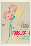 "Movie Posters:Drama, Dodsworth (United Artists, 1936). One Sheet (27"" X 41"").. ..."
