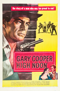 """High Noon (United Artists, 1952). One Sheet (27"""" X 41"""")"""