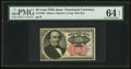 Fractional Currency:Fifth Issue, Fr. 1308 25¢ Fifth Issue PMG Choice Uncirculated 64 EPQ.. ...