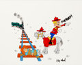 Animation Art:Presentation Cel, Dudley Do-Right Presentation Cel Signed by Jay Ward (JayWard Productions, 1970s/'80s)....