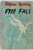 Books:Literature 1900-up, William Golding. INSCRIBED. Free Fall. Faber and Faber,1959. Inscribed and signed by the author. Dust jacket. L...