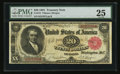Large Size:Treasury Notes, Fr. 375 $20 1891 Treasury Note PMG Very Fine 25.. ...