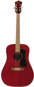 Music Memorabilia:Autographs and Signed Items, John Denver Owned and Autographed Guild Acoustic Guitar. One of the most popular artists of the 1970s, singer-songwriter-hum... (Total: 1 Item)
