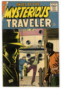 Silver Age (1956-1969):Mystery, Tales of the Mysterious Traveler #1 (Charlton, 1956) Condition:FN+....