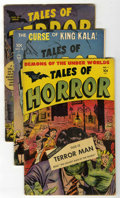 Golden Age (1938-1955):Horror, Tales of Horror/Tales of Terror Group (Toby Publishing, 1952)Condition: Average VG.... (Total: 3 Comic Books)