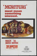 "Movie Posters:War, Morituri (20th Century Fox, 1965). One Sheet (27"" X 41""). War. ..."