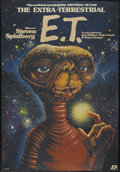 "Movie Posters:Science Fiction, E.T. The Extra-Terrestrial (Universal, 1984). Polish One Sheet B1Vertical (26.25"" X 38""). Science Fiction. ..."