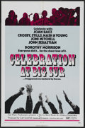 "Movie Posters:Rock and Roll, Celebration at Big Sur (20th Century Fox, 1971). One Sheet (27"" X41""). Rock and Roll. ..."