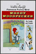 "Movie Posters:Animated, Woody Woodpecker Stock (Universal, 1970s). One Sheet (27"" X 41"").Animated...."