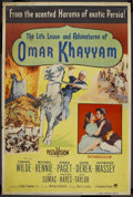 "Movie Posters:Adventure, Omar Khayyam (Paramount, 1957). Poster (40"" X 60""). Adventure. ..."