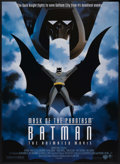 "Movie Posters:Animated, Batman: Mask of the Phantasm Lot (Warner Brothers, 1993) DS and SS.One Sheet (27"" X 40""). Animated. ... (Total: 2 Items)"