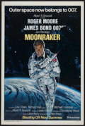 "Movie Posters:James Bond, Moonraker (United Artists, 1979). One Sheet (27"" X 41"") AdvanceStyle A. James Bond. ..."