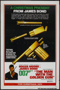 "Movie Posters:James Bond, The Man With the Golden Gun (United Artists, 1974). One Sheet (27""X 41"") Advance. James Bond. ..."