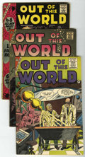 Silver Age (1956-1969):Horror, Out of This World Group (Charlton, 1956-59).... (Total: 5 ComicBooks)