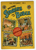 Golden Age (1938-1955):Religious, Picture Stories from the Bible Old Testament #1 (EC, 1946)Condition: FN/VF....