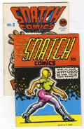 Silver Age (1956-1969):Alternative/Underground, Snatch Comics #1 and 2 Group (Apex Novelties, 1968).... (Total: 2Comic Books)