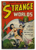 Golden Age (1938-1955):Science Fiction, Strange Worlds #1 (Avon, 1950) Condition: GD+....