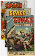 Golden Age (1938-1955):Science Fiction, Space Adventures Group (Charlton, 1953-61).... (Total: 4 ComicBooks)