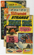 Golden Age (1938-1955):Horror, Strange Suspense Stories Group (Charlton, 1960-65).... (Total: 5Comic Books)