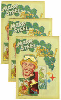 Bronze Age (1970-1979):Miscellaneous, Mark Steel Fights Pollution Group of 15 (American Iron & SteelInstitute, 1972) Condition: Average VF-.... (Total: 15 Comic Books)