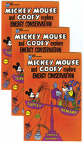 Bronze Age (1970-1979):Cartoon Character, Mickey Mouse and Goofy Explore Energy Conservation Group of 34(Exxon, 1976) Condition: VF-.... (Total: 34 Comic Books)