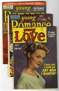 Golden Age (1938-1955):Romance, Young Romance/Young Love Comics Group (Prize, 1949).... (Total: 3Comic Books)