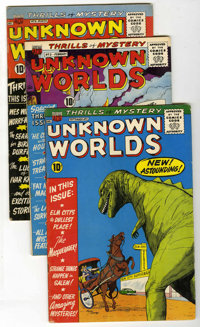 Unknown Worlds Group (ACG, 1960).... (Total: 7 Comic Books)