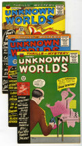 Silver Age (1956-1969):Horror, Unknown Worlds Group (ACG, 1961-67) Condition: Average FN-....(Total: 14 Comic Books)
