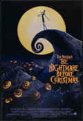 """Movie Posters:Fantasy, The Nightmare Before Christmas (Touchstone, 1993). One Sheet (27"""" X 41""""). Animated Musical. DS. ..."""