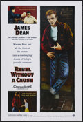 """Movie Posters:Drama, Rebel Without a Cause (Warner Brothers, R-2005). One Sheet (27"""" X 40""""). Drama. ..."""