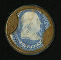 Encased Postage: , HB-17 EP-3 1¢ Take Ayer's Pills Extremely Fine.. ...