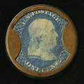 HB-50 EP-6 1¢ Joseph L. Bates Fancy Goods Extremely Fine