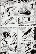 Original Comic Art:Panel Pages, John Buscema and Sal Buscema Silver Surfer #7 Page 30Original Art (Marvel, 1969)....