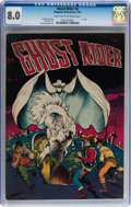 Golden Age (1938-1955):Western, Ghost Rider #4 (Magazine Enterprises, 1951) CGC VF 8.0 Light tan tooff-white pages....