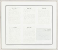 Jacqueline Kennedy: Autograph Letter Signed to Evelyn Lincoln, 1964