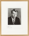 Autographs:Statesmen, Robert F. Kennedy: U.S. Attorney General Photograph Signed,1961....