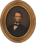Political:3D & Other Display (pre-1896), Abraham Lincoln: Framed Chromolithograph....