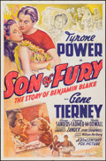 "Movie Posters:Adventure, Son of Fury (20th Century Fox, 1942). International One Sheet (27""X 41""). Adventure.. ..."