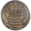 Colonials, 1778-1779 TOKEN Rhode Island Ship Token, No Wreath, Copper AU58 PCGS. CAC. Betts-562, W-1730, R.3....