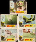 """Movie Posters:Science Fiction, Monster from the Ocean Floor (Lippert, 1954). Lobby Cards (5) (11"""" X 14""""). Science Fiction.. ... (Total: 5 Items)"""