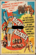 "Movie Posters:Comedy, Rockin' in the Rockies (Columbia, 1945). One Sheet (27"" X 41"").Comedy.. ..."