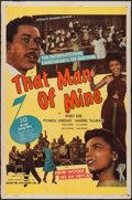 "Movie Posters:Black Films, That Man of Mine (Astor Pictures, 1946). One Sheet (27"" X 41"").Black Films.. ..."