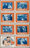 "Movie Posters:Crime, Smart Girls Don't Talk (Warner Brothers, 1948). Lobby Card Set of 8(11"" X 14""). Crime.. ... (Total: 8 Items)"