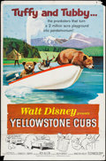 "Movie Posters:Short Subject, Yellowstone Cubs & Others Lot (Buena Vista, 1963). One Sheets(3) (27"" X 41""). Short Subject.. ... (Total: 3 Items)"