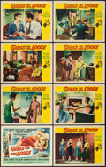 "Movie Posters:Bad Girl, Girls on the Loose (Universal International, 1958). Lobby Card Setof 8 (11"" X 14""). Bad Girl.. ... (Total: 8 Items)"