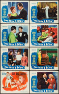 """Movie Posters:Crime, The Man I Love (Warner Brothers, 1947). Lobby Card Set of 8 (11"""" X14""""). Crime.. ... (Total: 8 Items)"""