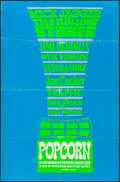 "Movie Posters:Rock and Roll, Popcorn (Sherpix, 1969). Silk Screen One Sheet (27"" X 41""). Rockand Roll.. ..."
